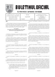 În baza articolului 183, alineatul 1 din Constituţia ... - Vojvodina