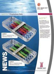 Prophylaxe Sets - DCV Instrumente Gmbh
