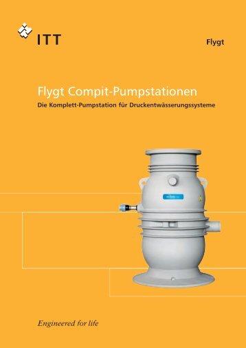 Flygt Compit-Pumpstationen - Pumpenscout.de