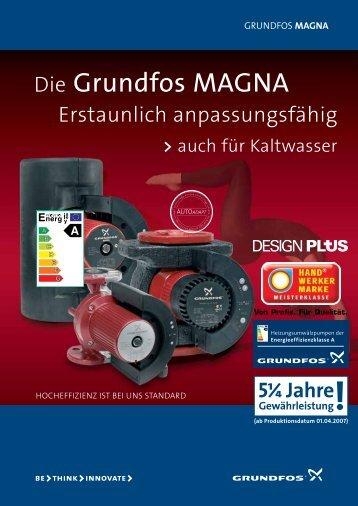 Die Grundfos MAGNA - Pumpenscout.de
