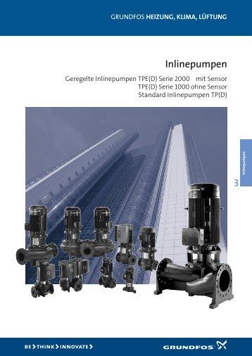 Datenheft Geregelte und Standard Inlinepumpen - Pumpenscout.de