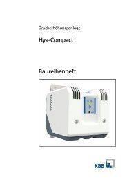 Hya-Compact Baureihenheft - Pumpenscout.de