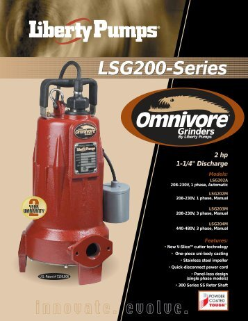 LSG200-Series - Pumps!