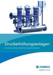 Druckerhöhungsanlagen - Pumpenscout.de