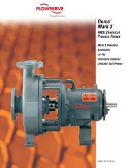 Durco® Mark 3™ ANSI Chemical Process Pumps