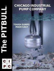 CHICAGO INDUSTRIAL PUMP COMPANY - Pumps!