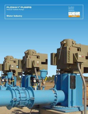 FLOWAY® PUMPS Water Industry - Weir Minerals