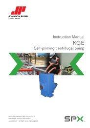 Instruction Manual Self-priming centrifugal pump - Pumps!