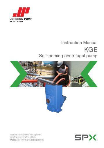 Centrifugal pumps manual pdf