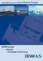 DESMI pumps