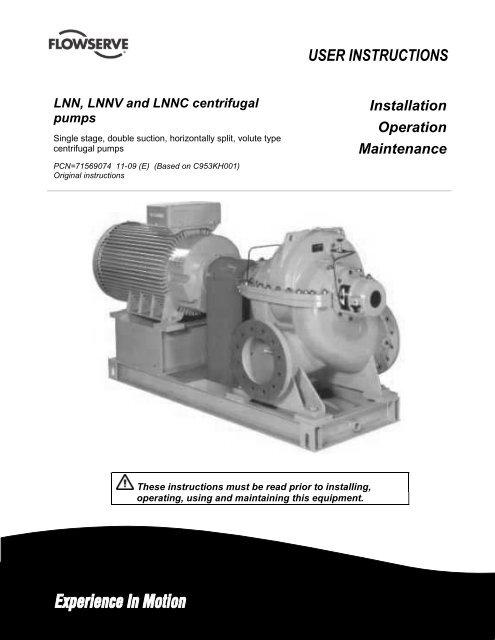 LNN English 71569074 11-09 - Flowserve Corporation