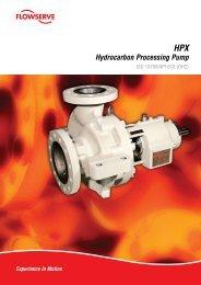 HPX Hydrocarbon Processing Pump - Pumps!