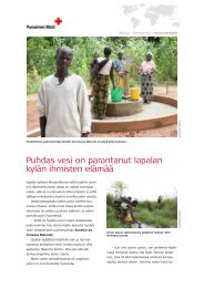 Puhdas vesi on parantanut Iapalan kylän ihmisten elämää - Suomen ...