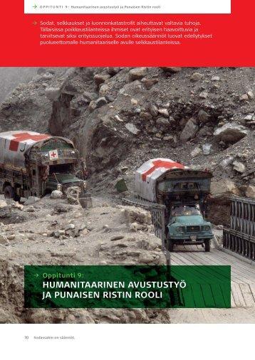 Humanitaarinen avustustyö ja Punaisen Ristin rooli - Punainen Risti