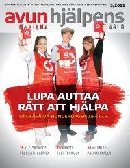 Avun Maailma - Punainen Risti