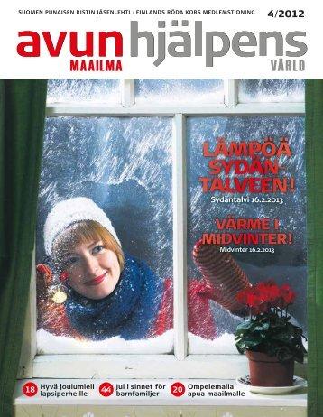 LÄMPÖÄ SYDÄN- TALVEEN! - Punainen Risti