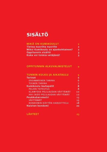 Ohjekirjan sisus, pdf - Punainen Risti