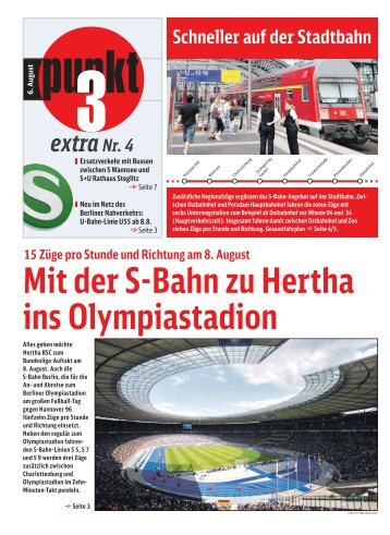 Extra Nr. 4 - S-Bahn Berlin GmbH