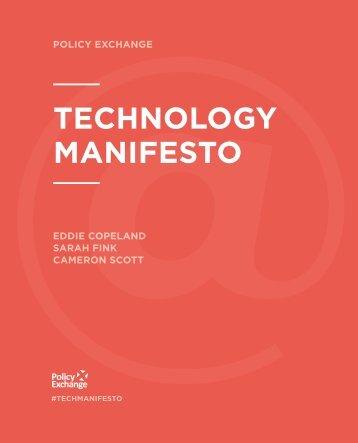 technology manifesto