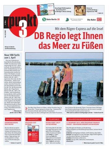 DB Regio legt Ihnen das Meer zu Füßen - S-Bahn Berlin GmbH