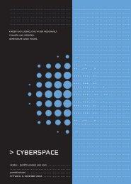 Broschüre Jahrestagung Cyberspace 2003 - Zuger Fachstelle ...