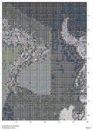 Page 1 Prohibida su venta GUERNICA by PANDA - Punto Cruz Gratis