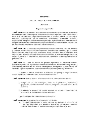 Contenidos - Reglamentos técnicos