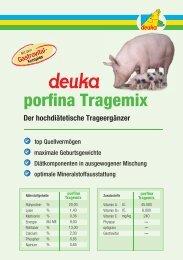 porfina Tragemix - deuka Deutsche Tiernahrung Gmbh & Co. KG