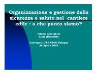(Microsoft PowerPoint - Convegni IIPLE Aprile 2010 ... - PuntoSicuro