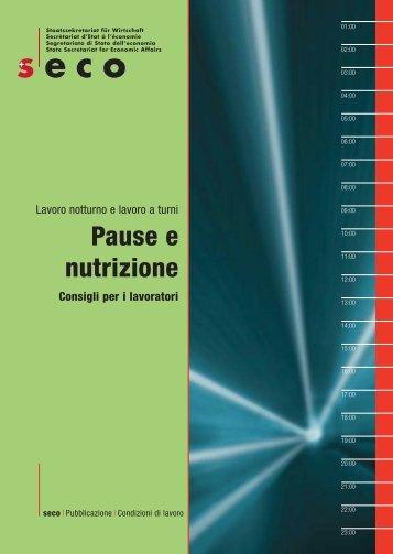Pause e nutrizione - Diario per la prevenzione