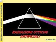 Radiazioni ottiche artificiali - Unipd-Org.It