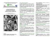 pieghevole informativo su valutazione e gestione del rischio