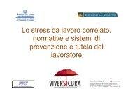 Lo stress da lavoro correlato, normative e sistemi di ... - Tecnostress