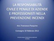 La responsabilità civile e penale di aziende e ... - PuntoSicuro