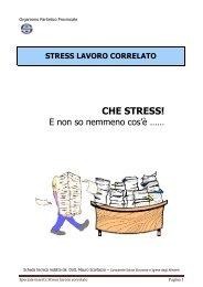 Stress lavoro correlato - Enti Bilaterali