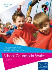 Schools Council Best Practice Guide Welsh Aug ... - Pupil Voice Wales