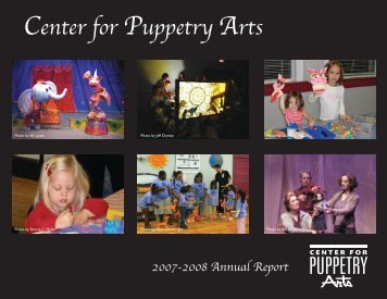 Volunteers - Center for Puppetry Arts