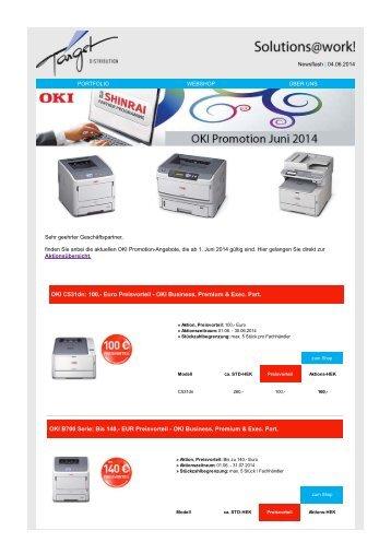 OKI-Promotion Juni 2014