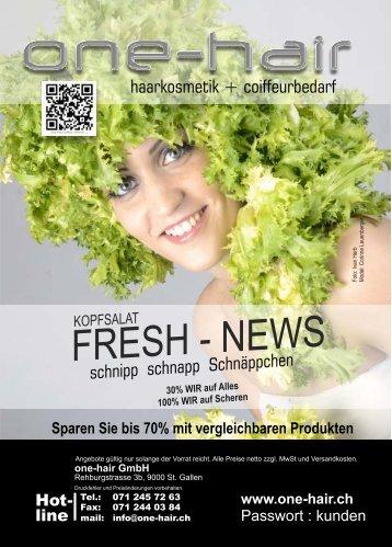 FRESH - NEWS
