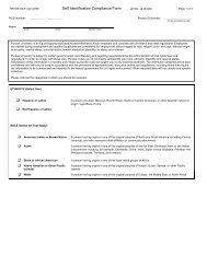 Self-Identification Compliance Form - Purdue University