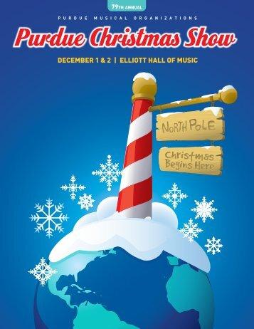 Purdue Christmas Show - Purdue University