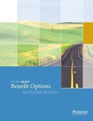 Retire Smart Benefit Options - Purdue University