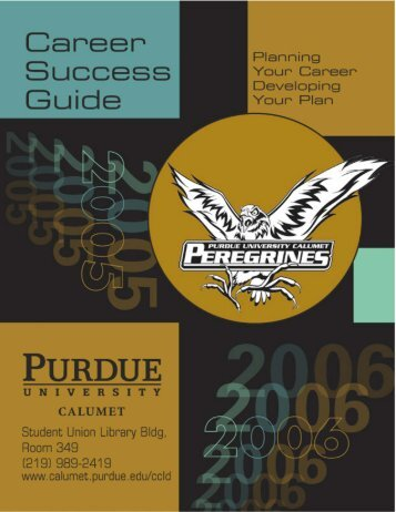 Career - Purdue University Calumet