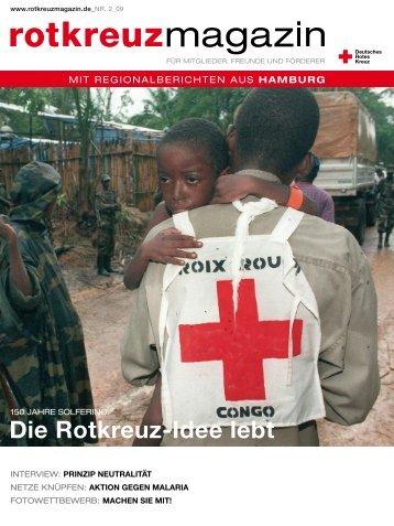 Rotkreuzmagazin 2 / 2009 - DRK Landesverband Hamburg ev