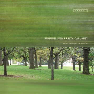 Campus Master Plan (PDF) - Purdue University Calumet