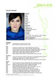 Maiwald, Carolin 09 - pure actors and presenters