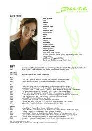 Koerte, Lara eng 09 - pure actors and presenters