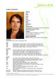 Lambrecht, Guido 08 - pure actors and presenters