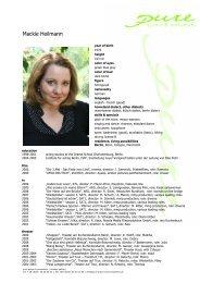 Heilmann, Mackie eng 09 - pure actors and presenters