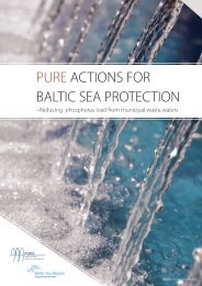 PURE Actions for Baltic Sea Region
